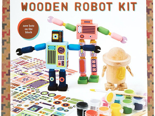 Kid Made Modern Wooden Robot Kit
