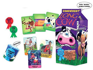 Gamewright Long Cow Udderly Ridiculous Card Game