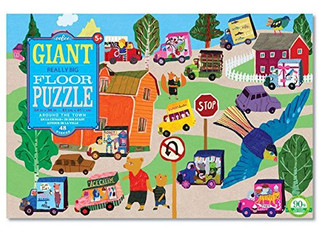 eeBoo Around the Town Giant Really Big Floor Puzzle