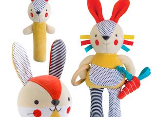 Petit Collage Bunny Organic Soft Toys