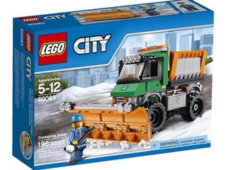 LEGO CITY Snowplow Truck