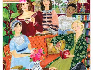 eeBoo 1000 piece Jane Austen's Book Club