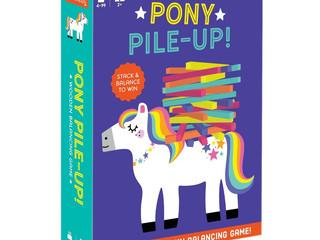 Mudpuppy Pony Pile-Up Game