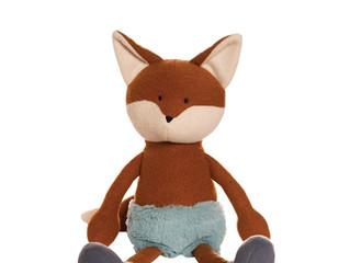 Manhattan Toy Forest Friends: Fran Fox and Huck Hedgehog