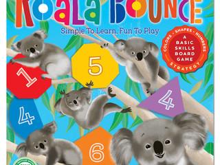 eeBoo Koala Bounce Game