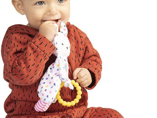 Manhattan Toy Cherry Blossom Bunny Teether