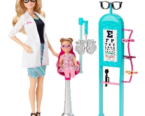 Barbie Eye Doctor & Playset