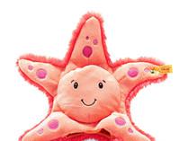 Steiff Starry Sea Star Soft Cuddly Friends Stuffed Animal Puppet