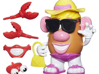 Playskool Mrs. Potato Head Beach Spudette