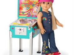 American Girl Julie's Pinball Machine