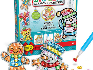 Creativity for Kids Holiday Big Gem Diamond Painting
