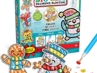 Creativity for Kids Holiday Big Gem Diamond Painting