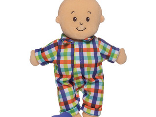 "Manhattan Toy Wee Baby Fella 12"" Boy Doll"