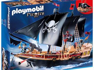 Playmobil Pirate Raiders' Ship Playset