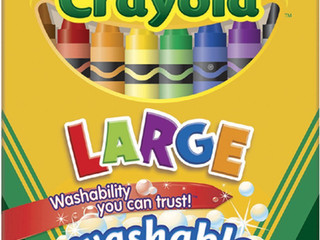 Crayola Washable Large Crayons