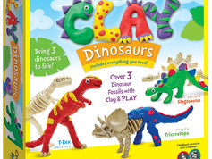 Creativity for Kids Create with Clay Dinosaurs Kit