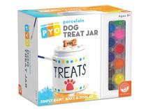 Paint Your Own Porcelain: Dog Treat Jar