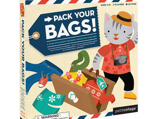Petit Collage Pack Your Bags! Game