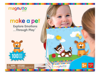 NeatOh! Magnutto Make a Pet Educational Magnetic Activity Playset