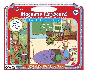 eeBoo Back to School Magnetic Playboard