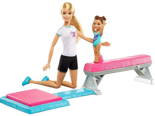 Mattel Barbie Flippin' Fun Gymnast