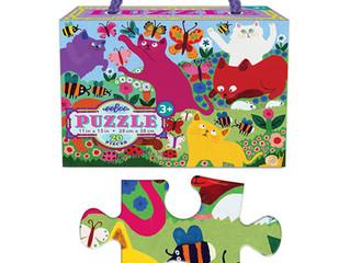 eeBoo Crazy Kittens 20 piece puzzle