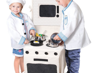 Pop-Oh-Ver Stove and Counter Top Sets