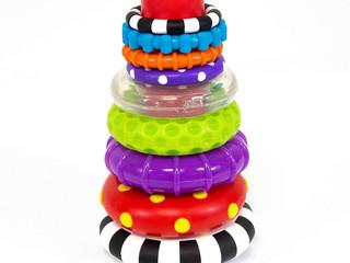 Sassy Stack of Circles Ring Stacker
