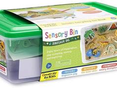 Creativity for Kids Dinosaur Sensory Bin