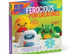 Craftastic Ferocious Pom Creatures
