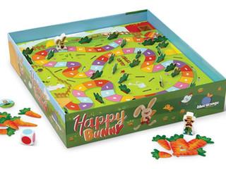 Blue Orange Happy Bunny Game