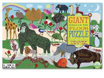 eeBoo Creatures Big and Small Giant Really Big Floor Puzzle