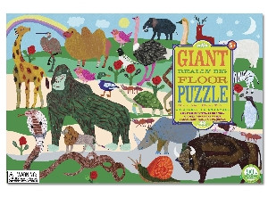 eeBoo Creatures Big and Small Giant Really Big Floor Puzzle