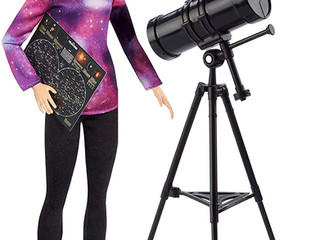 National Geographic Astrophysicist Barbie and other Barbie Scientists