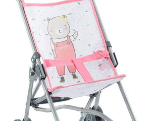 Corolle Umbrella Baby Doll Stroller  Blue or Pink