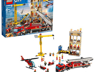 Lego Downtown Fire Brigade
