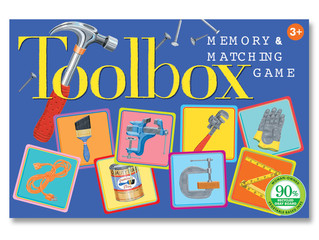eeBoo Toolbox Memory and Matching Game