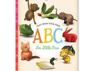 eeBoo Play With Your Food ABC Board Book