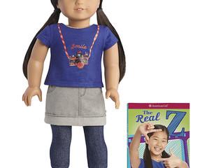 Z Yang, American Girl Doll & book