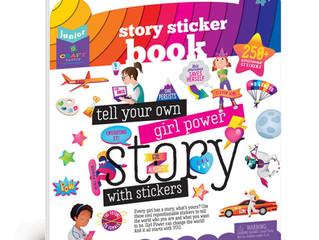 Craft-tastic Jr Story Sticker Book - Girl Power