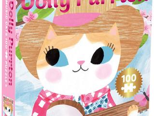 Mudpuppy Dolly Purrton 100-piece Puzzle