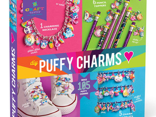 Craft-tastic – DIY Puffy Charms – Craft Kits