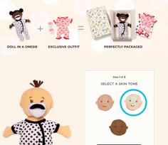 Manhattan Toy Create Your Own Wee Baby Stella Doll