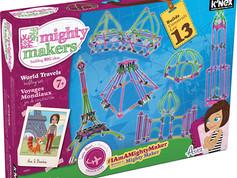 K'nex Mighty Makers World Travels Building Set