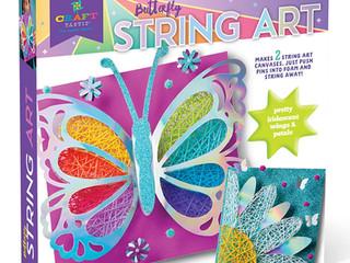 Craft-tastic String Art - Butterfly