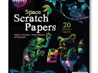 eeBoo Space Scratch Papers
