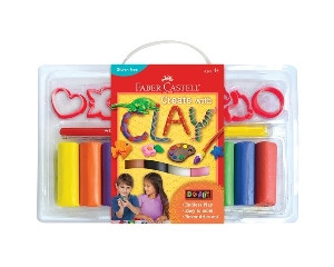 Faber-Castell Create With Clay Kit
