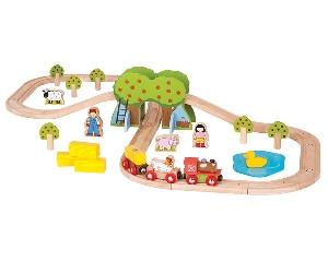 BigJigs Farm Train Set