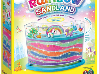 Creativity for Kids Sticker Rainbow Sandland