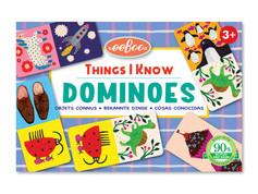 eeBoo Things I Know Little Dominoes